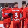 FCSB, victorie chinuita cu FC Botosani. Un gol fantastic si o gafa monumentala au decis meciul