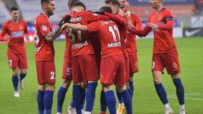 FCSB, victorie grea în Liga 1. Pe ce loc este echipa lui Gigi Becali
