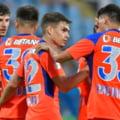 """FCSB, victorie la limită cu """"anonimii"""" din Kazahstan. Noua """"perlă"""" a lui Gigi Becali a decis meciul tur din Conference League"""