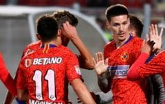 FCSB a castigat derby-ul cu Dinamo. 4 goluri marcate in prima repriza. Decizii controversate de arbitraj