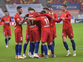 FCSB a invins la Botosani si pastreaza prima sansa la titlul de campioana. Oamenii lui Becali au decis meciul intr-o repriza