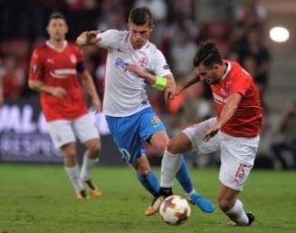 FCSB a terminat la egalitate cu Hapoel Beer Sheva si s-a calificat in primavara Europa League