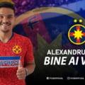 FCSB anunta transferul unui nou atacant. Alexandru Buziuc a mai jucat la Academica Clinceni, FC Vaslui si Gaz Metan Medias