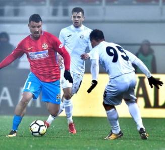 FCSB invinge Astra la scor de neprezentare si revine pe primul loc in Liga 1