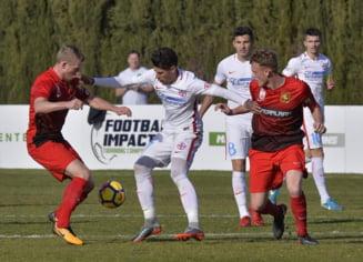 FCSB obtine prima victorie in meciurile amicale din aceasta iarna, in fata lui Fabio Capello