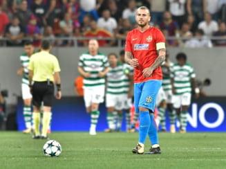 FCSB pierde la scor cu Sporting Lisabona si e eliminata din Liga Campionilor