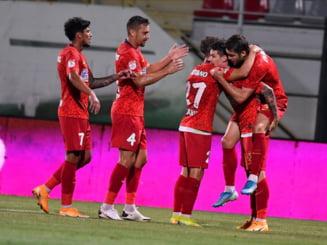 FCSB se califica in turul urmator din Europa League, dupa 3-0 cu Shirak