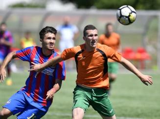 FCSB trece clar de Dinamo in ambele mari derbiuri la juniori