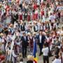 """FESTIVALUL-CONCURS INTERNAEsIONAL DE FOLCLOR """"PESTISORUL DE AUR"""" Editia a XXV - a, 7-12 august 2017, EDIEsIE ANIVERSARA"""