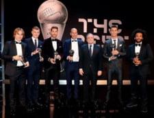 """FIFA a anuntat echipa anului - 5 jucatori de la Real Madrid in primul """"11"""""""