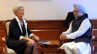 FMI lauda India si arata cu degetul spre zona euro