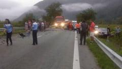 FOTO - Accident mortal pe Valea Oltului. Un tanar de 33 de ani din Sibiu a decedat