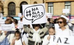 FOTO | Criza in Spania: Zeci de mii de oameni au marsaluit in Madrid pentru unitatea tarii