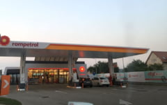 FOTO - Rompetrol a deschis o noua benzinarie in Sibiu
