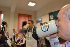 FOTO&VIDEO. A inceput Sathmarer Oktoberfest. Cum se da cep la butoiul cu bere