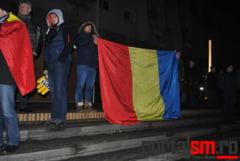 FOTO&VIDEO. Mobilizare la Satu Mare. Sute de satmareni au protestat impotriva Guvernului