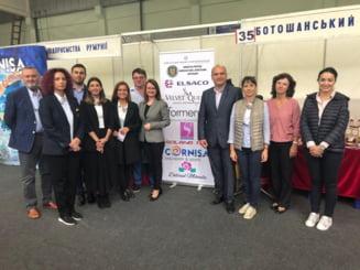"FOTO: Afaceristi botosaneni, prezenti la expozitia internationala ""Produs in Euroregiunea Prutul de Sus"""