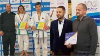 FOTO. Aur si argint la Concursul National de Judo Ne Waza, pentru sportivii CS Unirea Alba Iulia