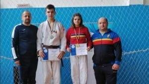 FOTO| Doi judoka ai CS Unirea Alba Iulia, convocati pentru reluarea antrenamentelor cu lotul national