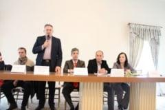 """FOTO: Eveniment de inchidere a proiectului """"WORK I.T.!"""", la Domeniile Martinuzzi - Vintu de Jos. Rezultatele obtinute, prezentate de expertii proiectului"""