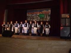 """FOTO: Festivalul de folclor pentru copii """"Cant si Joc de pe Tarnave"""", la Blaj. Ambasadori ai traditiilor din 4 judete, pe scena Centrului Cultural """"Iacob Muresianu"""""""