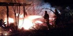 FOTO: Incendiu la o biserica din Mures