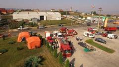 FOTO: Interventie de salvare la un accident cu victime multiple la Sebes - exercitiu de gestionare a unei situatii de urgenta