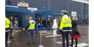 "FOTO: Masuri anti-COVID-19 la Aeroportul ""Transilvania"""