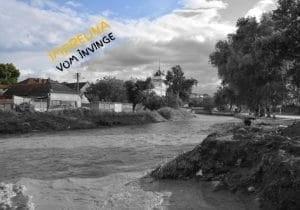FOTO| Primaria Aiud continua activitatile in sprijinul cetatenilor dupa inundatiile de saptamana trecuta