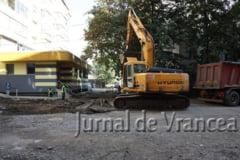 FOTO: Primaria Focsani anunta demararea lucrarilor de reabilitare a parcarii din spatele magazinului Milcovul