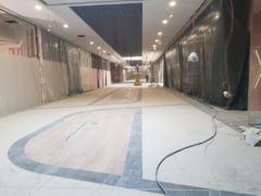 FOTO. Primele imagini din noul mall NEPI. Se lucreaza zi si noapte!