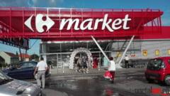 FOTO. S-a deschis Carrefour Satu Mare. Tort pentru primii clienti