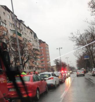 FOTO: Trafic dat peste cap, pe Independentei, dupa o coliziune in lant