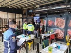FOTO/ VIDEO Sute de controale ale politiei, in Ilfov. Ciorogarla ramane in carantina. Ce se intampla in restul judetului