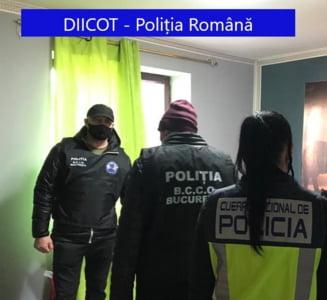 FOTO Banda de proxeneti care ducea tinere romance sa practice prostitutia in Spania, sparta de politie. Printre victime sunt si femei insarcinate