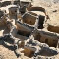 FOTO Cea mai veche manastire crestina, descoperita intr-un desert din Egipt