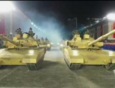 FOTO Coreea de Nord si-a creat propria versiune a tancului rusesc T-14 Armata