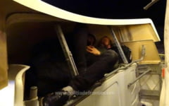 "FOTO Cum au incercat doi turci sa intre ilegal in Romania: ""Habar n-am cine sunt si cum au ajuns aici"""