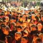 FOTO Cum au petrecut hunedorenii Seara Invierii. Mii de oameni s-au rugat in bisericile din Hunedoara
