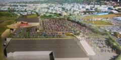 FOTO EXCLUSIV! Imagini spectaculoase cu viitorul mall NEPI!