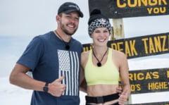 """FOTO Fosta tenismena Caroline Wozniacki, pe """"acoperisul lumii"""". Daneza a escaladat Muntele Kilimanjaro"""