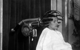 FOTO Fotografii istorice rare si povestile lor. Cum aratau uscatoarele de par din saloanele de coafura de pe vremuri