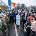 """FOTO Maia Sandu, dupa investirea in functia de presedinte al Republicii Moldova: """"Lupta noastra impotriva coruptilor nu va fi usoara"""""""