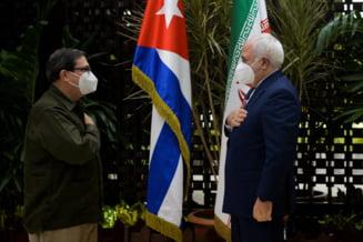 FOTO Ministrii de externe din Iran si Cuba s-au intalnit pentru a-si consolida alianta impotriva Statelor Unite