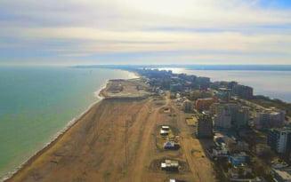 FOTO Plajele din Mamaia au fost extinse cu 30 de hectare. Proiectul de un miliard de euro care se intinde pe tot litoralul romanesc