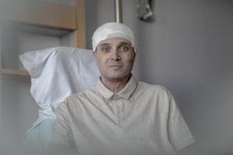 FOTO Primele imagini din Belgia cu doctorul Catalin Denciu, medicul erou de la Piatra Neamt care s-a aruncat in flacari pentru a-si salva pacientii
