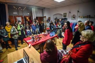"FOTO S-a deschis primul magazin de fapte bune din Sibiu. ""Il asteptam de mult"""