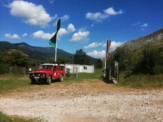 FOTO Sistem de avertizare unic in Romania montat la baza Salvamont din Rimetea. Cum sunt atentionati turistii asupra pericolelor