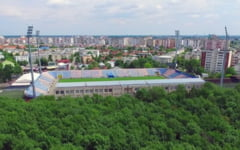 FOTO Stadion din Romania cu o istorie de 100 de ani. Comunistii l-au adus in forma actuala