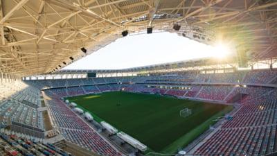 FOTO Stadionul Steaua este aproape gata. CNI: Se fac ultimele finisaje pentru organizarea receptiei
